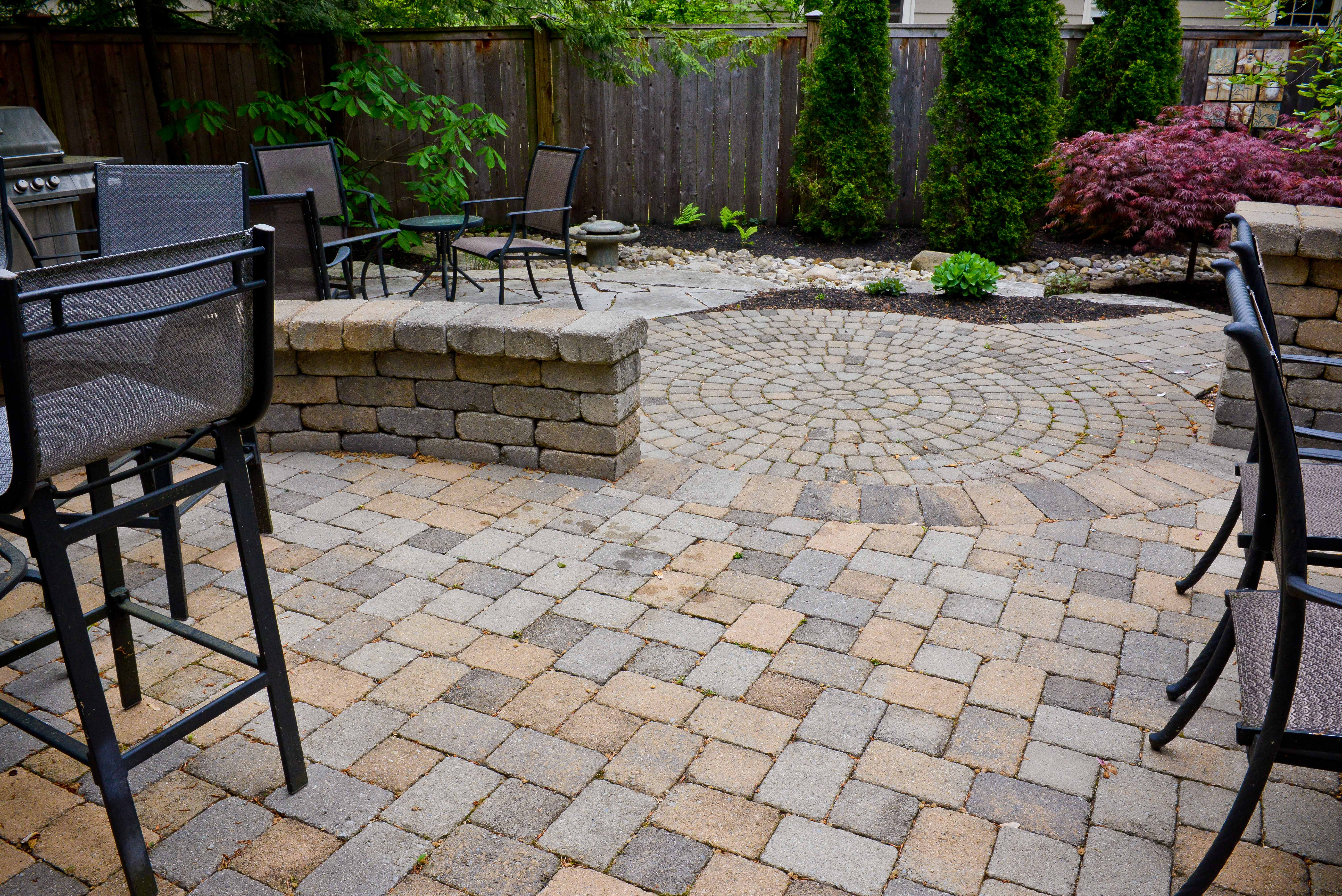 Patios and Walkways in Columbus Ohio Erie Dr Patios and